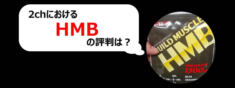 ビルドマッスルHMBの効果の源『HMB』の2chでの評判