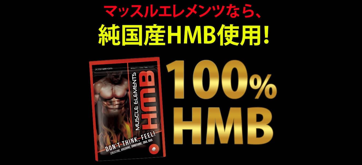 マッスルエレメンツHMBの効果の源純国産HMB