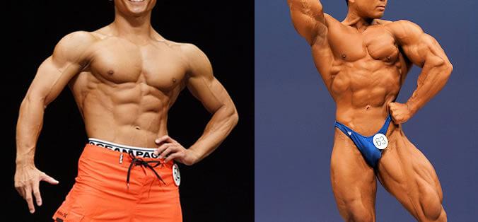 フィジークとボディビルの筋肉審査基準の違いについて