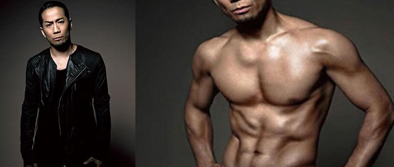 フィジーク受けボディビルドの筋肉参考芸人EXILE HIRO