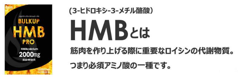 バルクアップHMBプロの業界中最多量のHMB